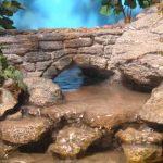 Bridge Scene (Large Double Silk) cd105