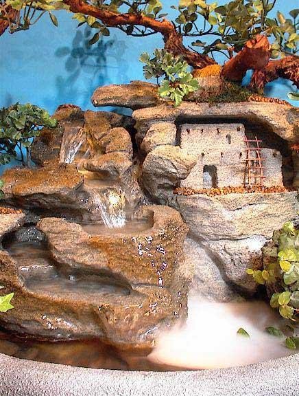 Adobe Cliff Dwelling (Large Fountain) cd12