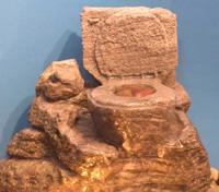 Overflowing Stone Age Toilet (Small Silk Shrub) cd55