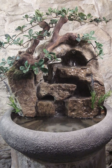 Large indoor fountain artificial foliage 38 natural creations large indoor fountain artificial foliage 38 workwithnaturefo