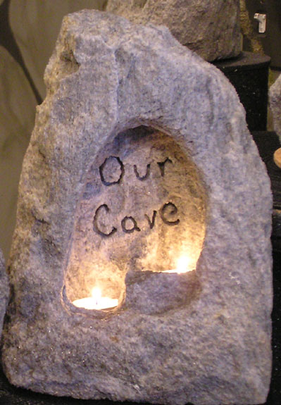 """Our"" Cave Candle® Holders For Those Who Share Their Cave"