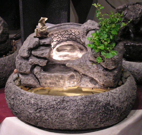 Oriental Bridge Tabletop Fountains #cd73