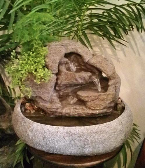 Medium Tabletop Fountain ss126