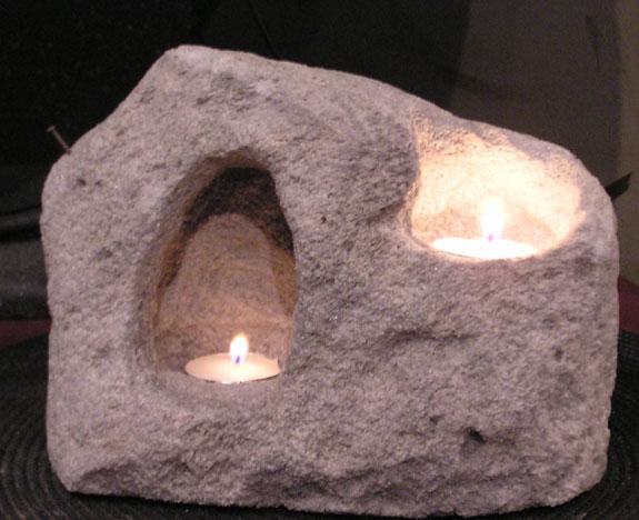 Yin Yang Cave Candle Holder #103
